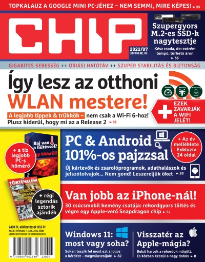 CHIP MAGAZIN ÉVES ELŐFIZETÉS + POWERBANK
