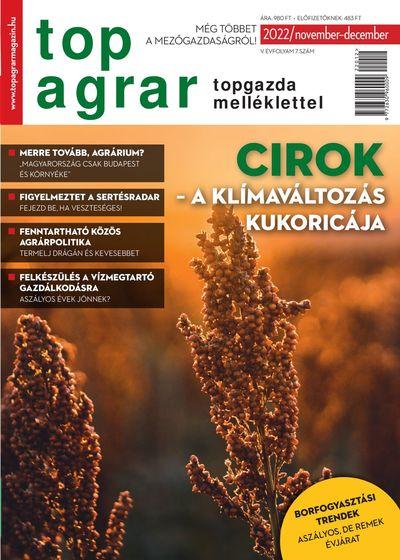 TOP AGRAR MAGYAR KIADÁS – KEDVEZMÉNYES ELŐFIZETÉS