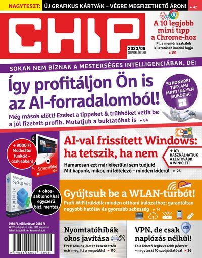 CHIP ÉVES ELŐFIZETÉS + 128 GB USB